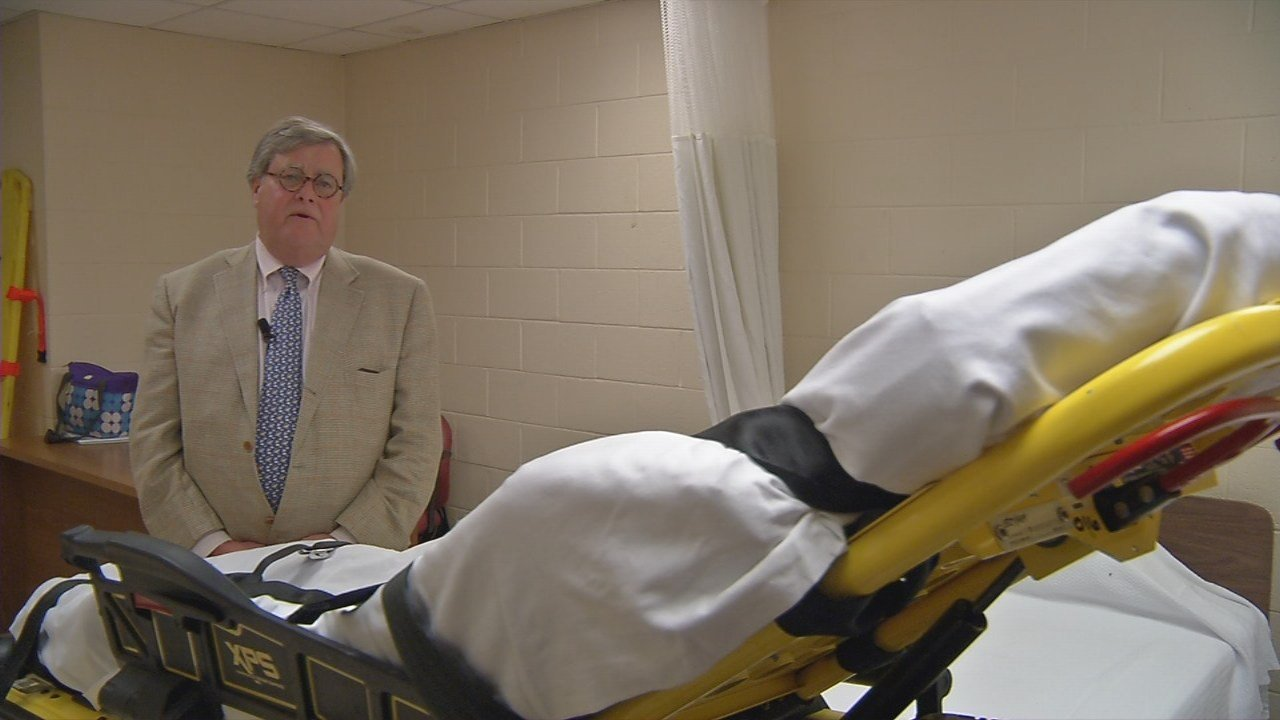 Churchill Downs Medical Director Dr. John Bayard Rice