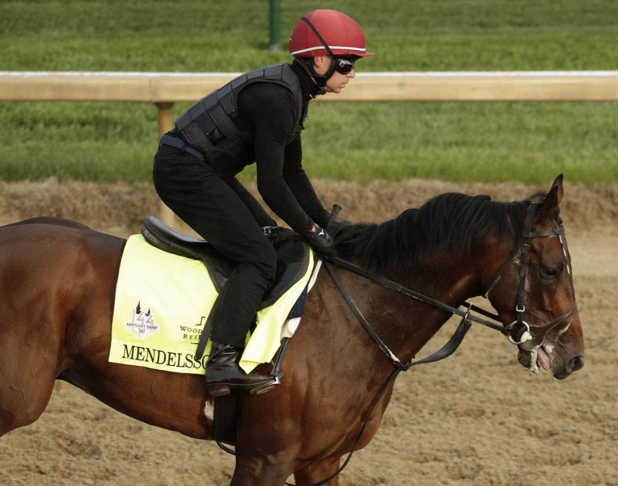 UAE Derby Mendelssohn is one of the top contenders in Kentucky Derby 144. (AP photo).