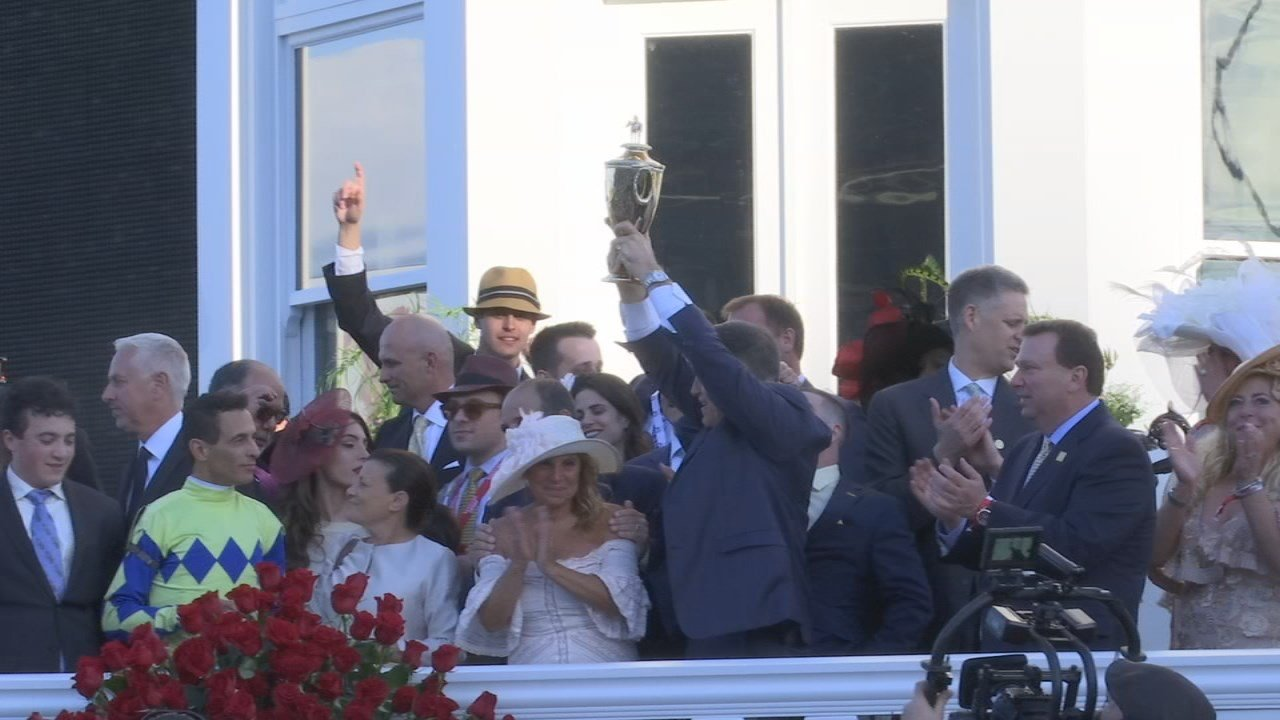 "Never tell a horse trainer that you'll ""see them in the winner's circle."""