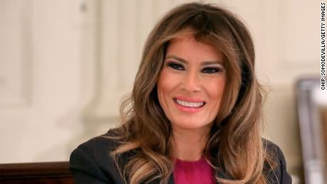 Melania Trump (Image Courtesy: CNN)