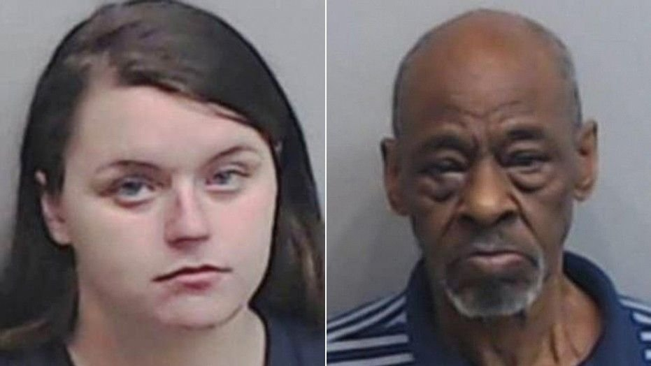 """Morgan Summerlin (left) admitted to bringing her young daughters to the homes of men to be raped in exchange for cash, including that of Richard """"Pop"""" Office (right). (Image Courtesy: Fulton County Jail/Fox News)"""