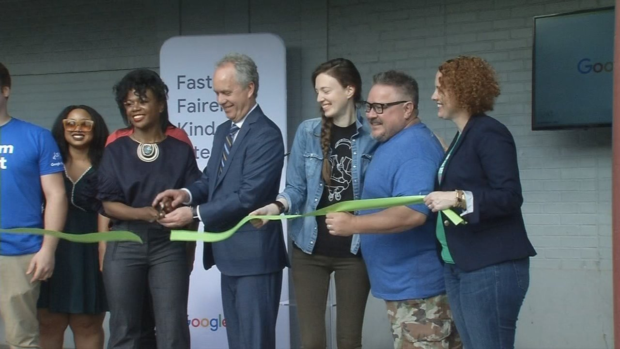 A new tech hub for local entrepreneurs officially openedin West Louisville on May 9, 2018.