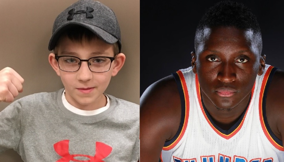 Pacers' star Victor Oladipo wrote an inspiring letter to Indiana's Cameron Kirk.