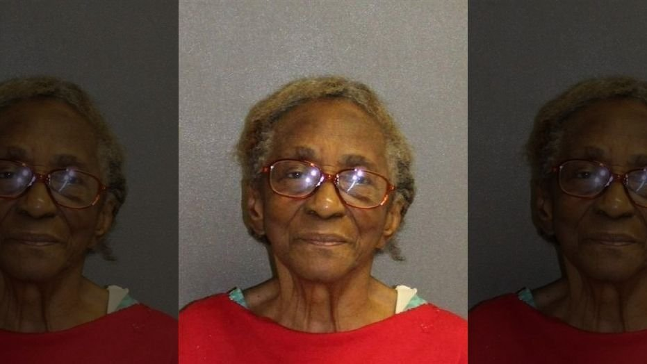 95-year-old Hattie Williams was charged with domestic violence for slapping her granddaughter with a slipper.