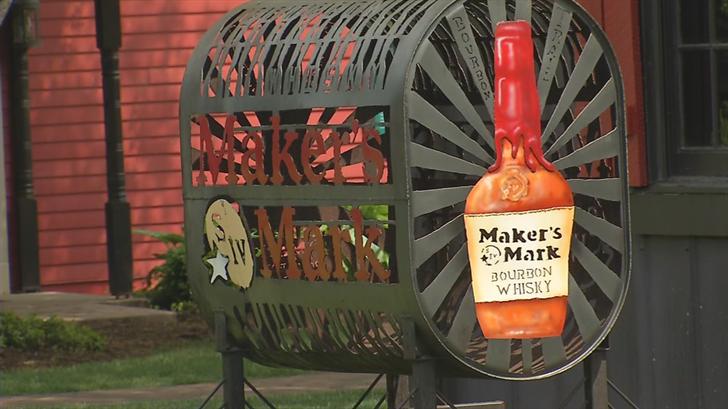 Maker's Mark Distillery is in Loretto, Kentucky.