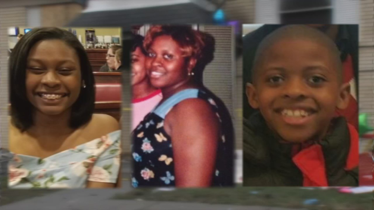 Archie Riley and her two children, 16-year-old Savannah Cooper and 11-year-old Kameron Harris, died as a result of an arson fire at an apartment complex on Shanks Lane in southwest Louisville.
