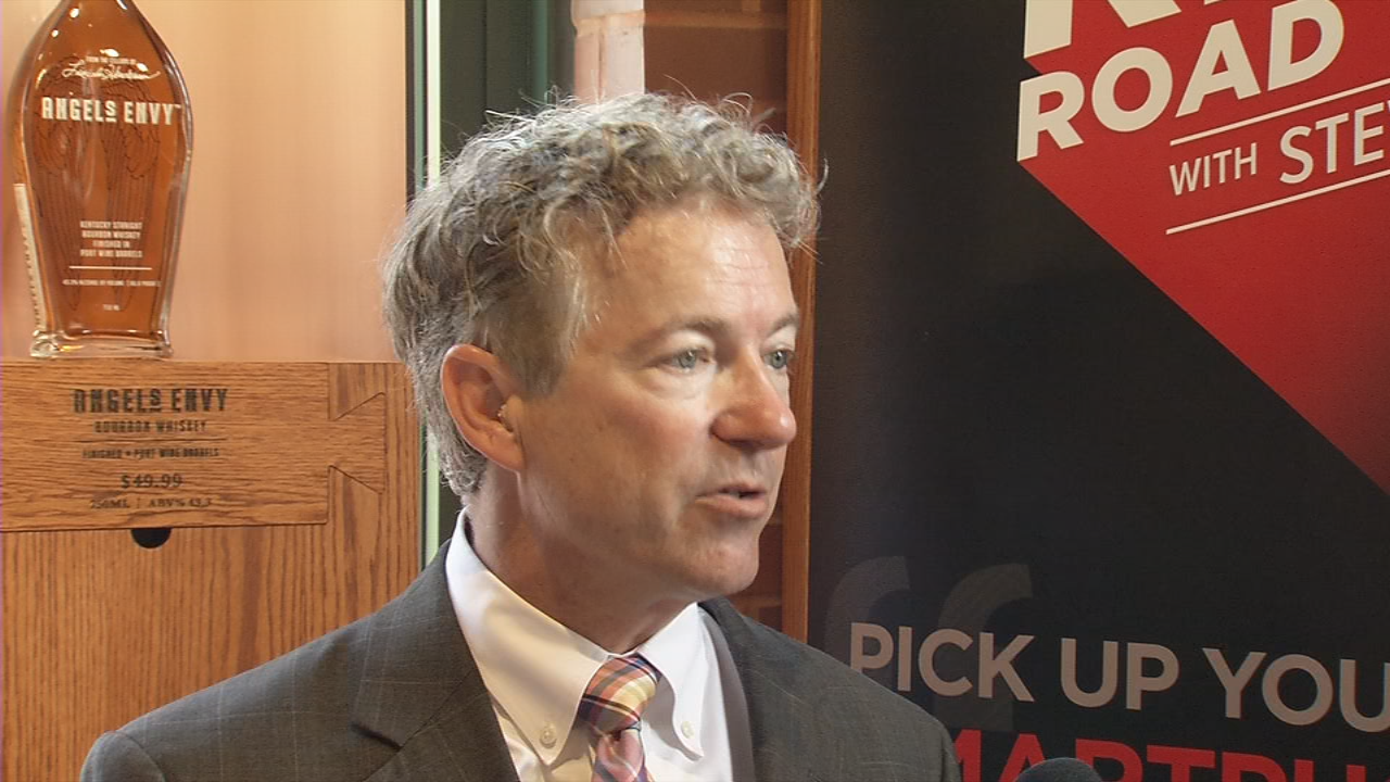Senator Rand Paul says he will not support Gina Haspel to be CIA chief
