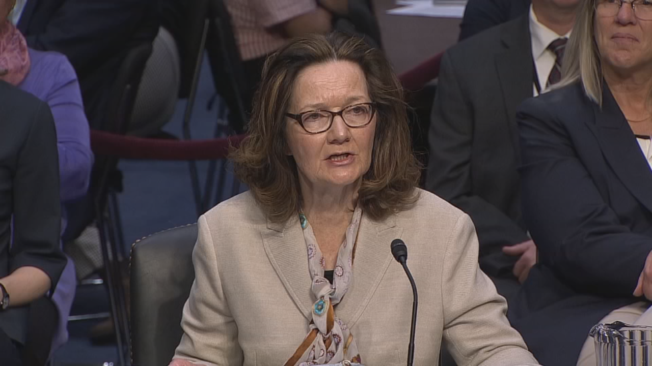 The U.S. Senate may soon vote on the nomination of Gina Haspel as CIA chief