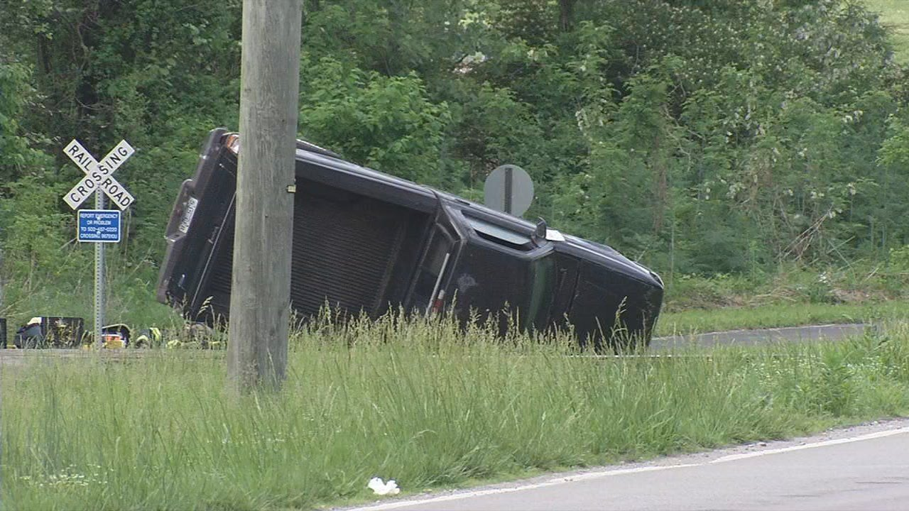 A man died after his truck flipped several times on Cane Run Road on May 12, 2018.