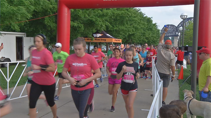 The Mother's Day 5k gave families a chance to get some exercise with their moms.