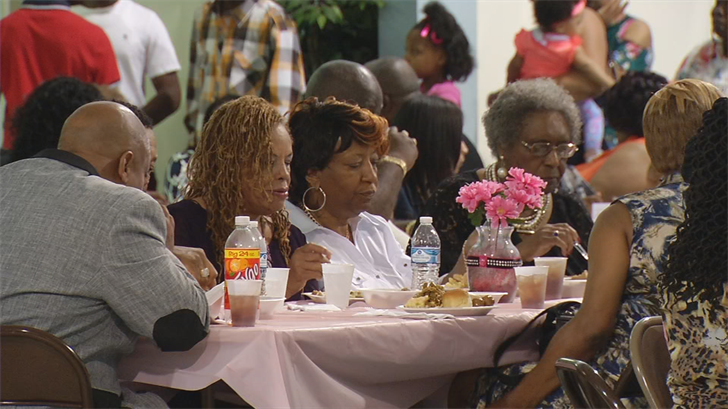 Greater United Community Church held a Mother's Day banquet for those who lost children to violence.