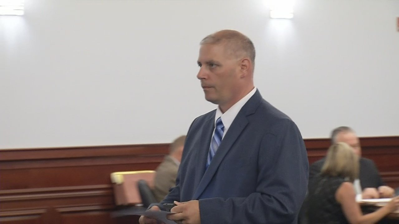 Hillview Police Detective John Nissen pleaded not guilty to charges connected to an alleged cover-up.