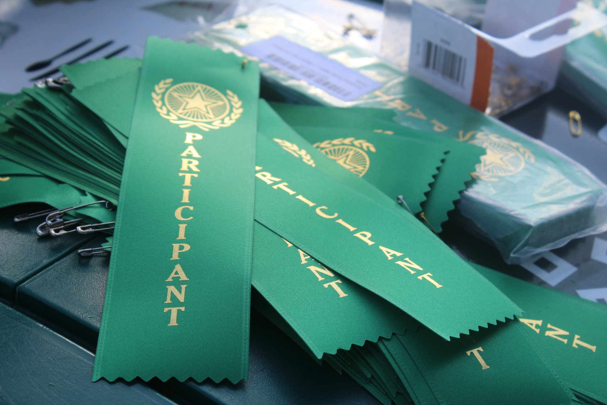 "Participation ribbons were handed out at Monday's ""Millenial Night"" at the Lexington Legends game."