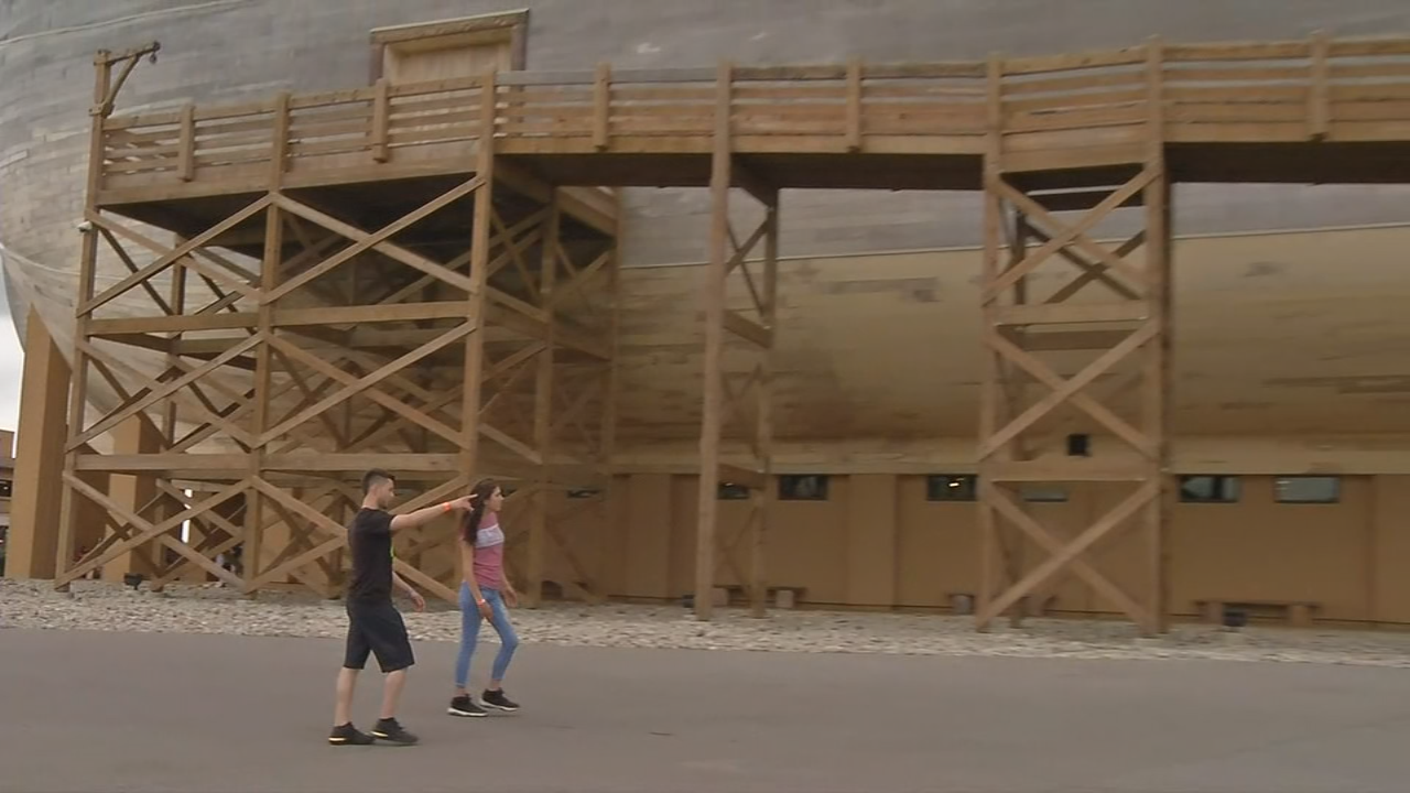 The Ark Encounter in northern Kentucky is expanding to draw visitors back.