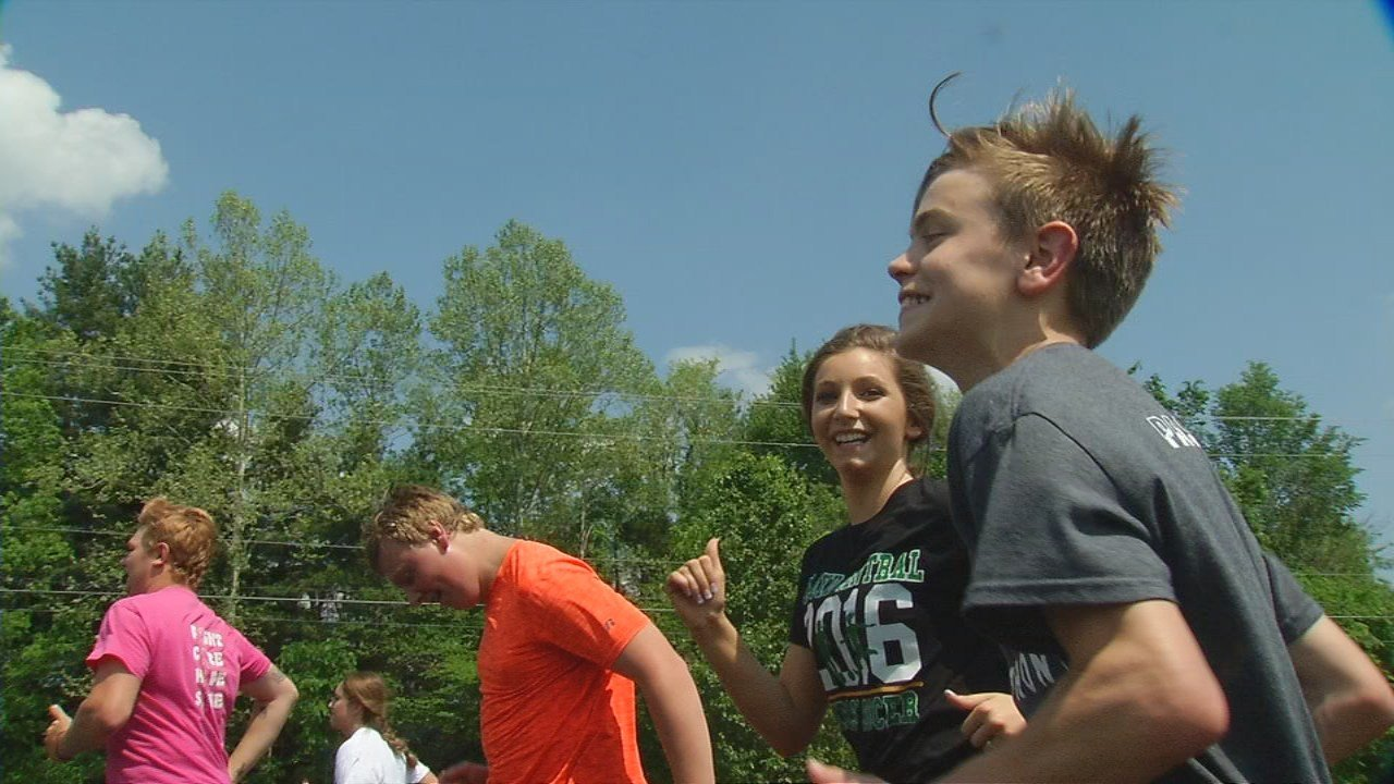 A southern Indiana track team is pairing track stars and kids with disabilities. It's happening at the Floyd Central High School where a Unified Track team is helping every athlete succeed, on and off the track.