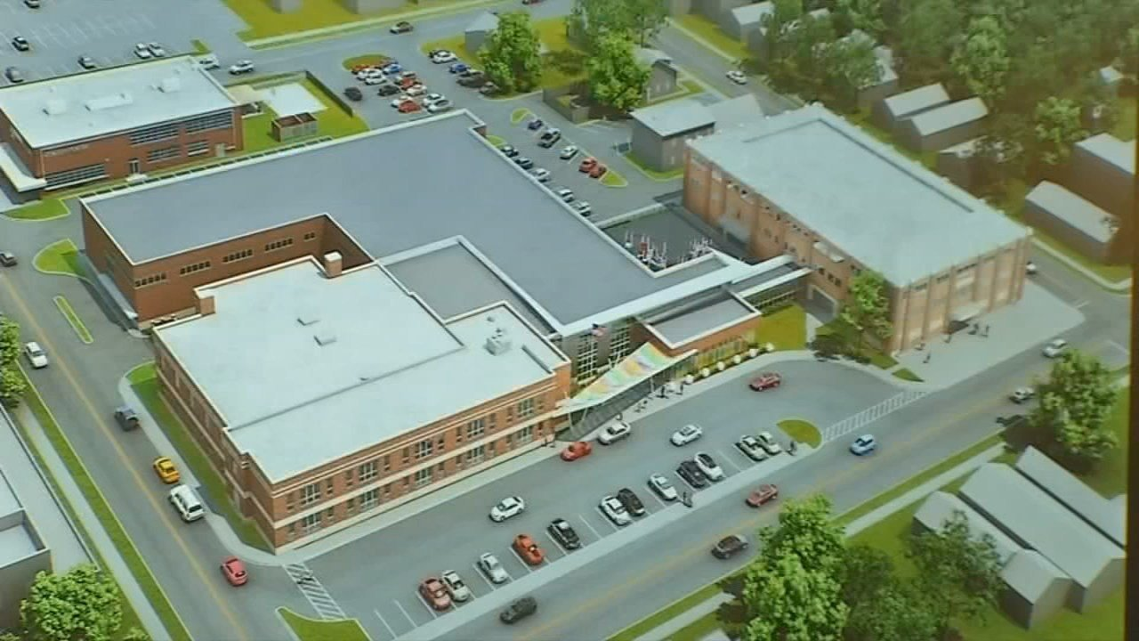 Mayor Mike Moorehas fought to build an elementary school next to Nachand Fieldhouse.