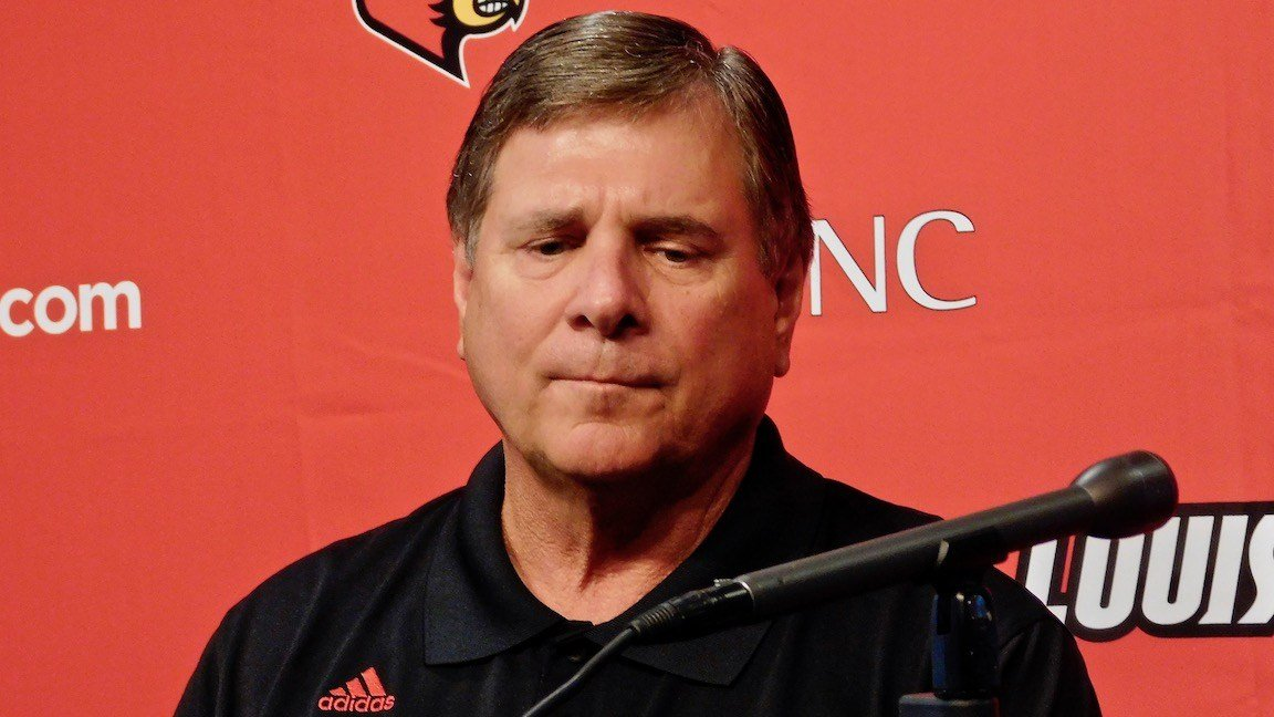 Former Louisville athletic director Tom Jurich. (WDRB photo by Eric Crawford)