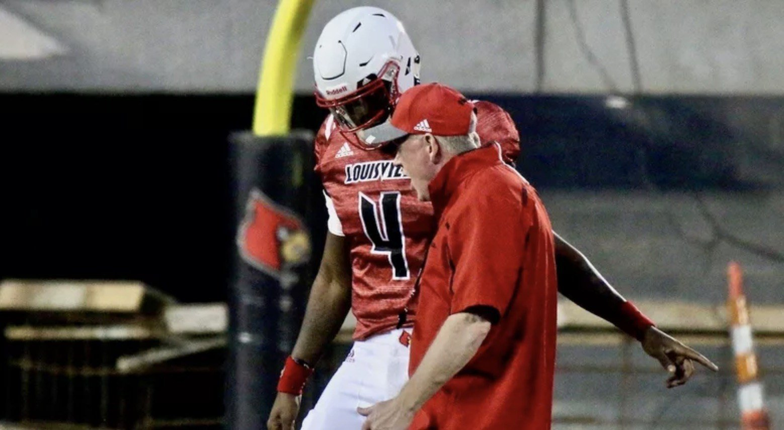 Quarterback Jawon Pass and coach Bobby Petrino will have to settle on a strategy to beat Alabama. (Eric Crawford photo)