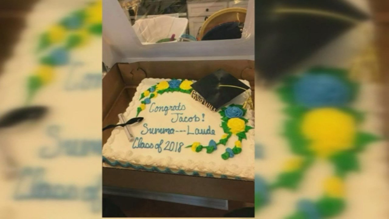 """The Publix in South Carolina thought """"Summa Cum Laude"""" included a dirty word and changed the message on the graduation cake."""
