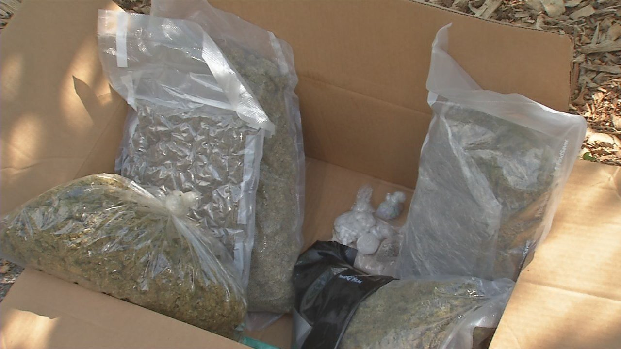 Drugs confiscated during Operation Safe Haven