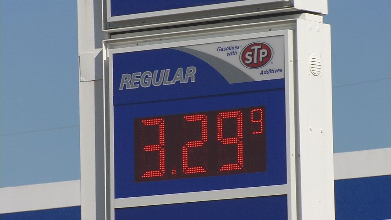 Gas prices on the rise ahead of Memorial Day weekend