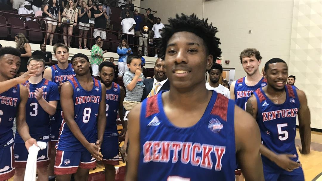 Fairdale's Markello Sullivan scored 28 points to lead the Kentucky all-stars to an upset win over Indiana Friday night.