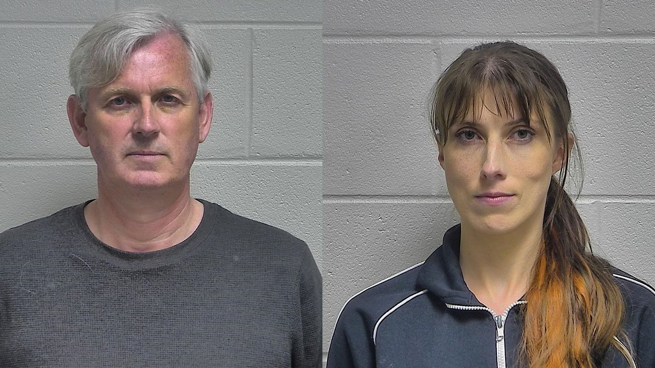Declan McAuley and Ariadne McAuley (Source: Oldham County Detention Center)