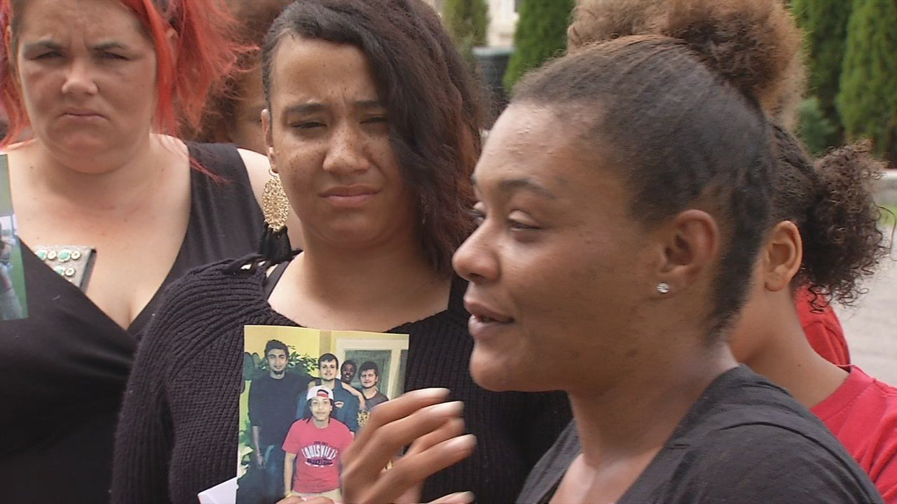 Family and friends react to the news of an arrest in the murder of Anthony Edwards.
