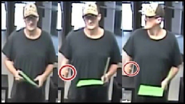 LMPD searching for suspect who robbed a BB&T Bank on May 31.