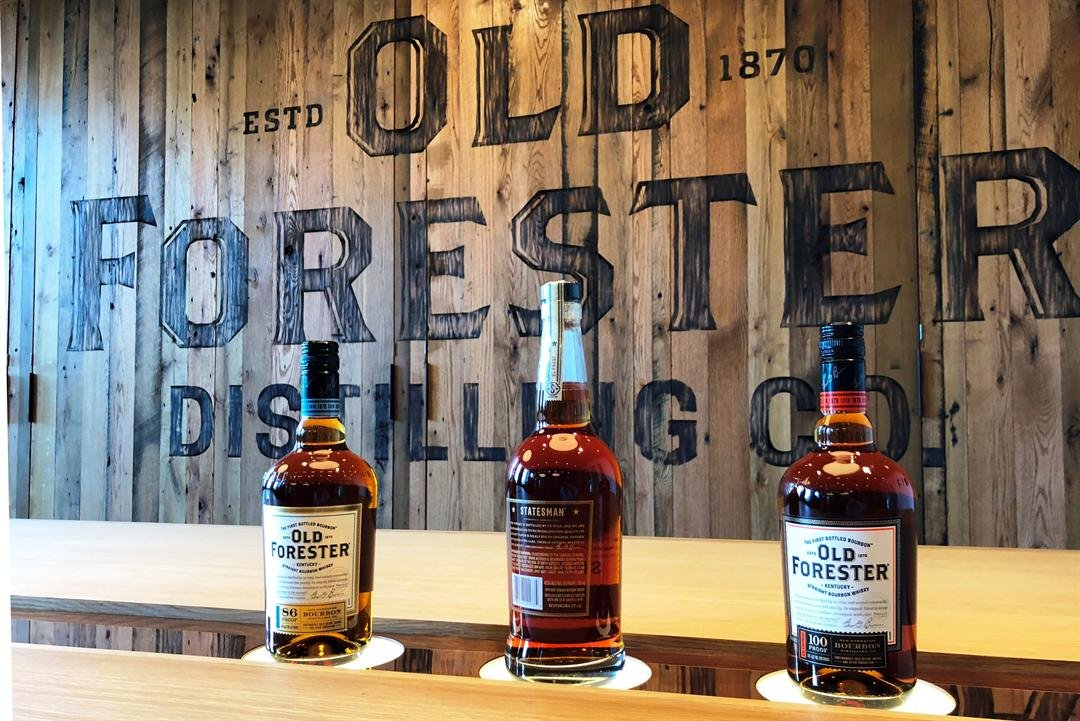 The tasting room inside the Old Forester Distillery in downtown Louisville, June 14, 2018.