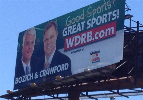 Bozich and Crawford billboard