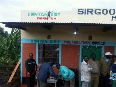 Kenyan Kids Foundation, Kenya office