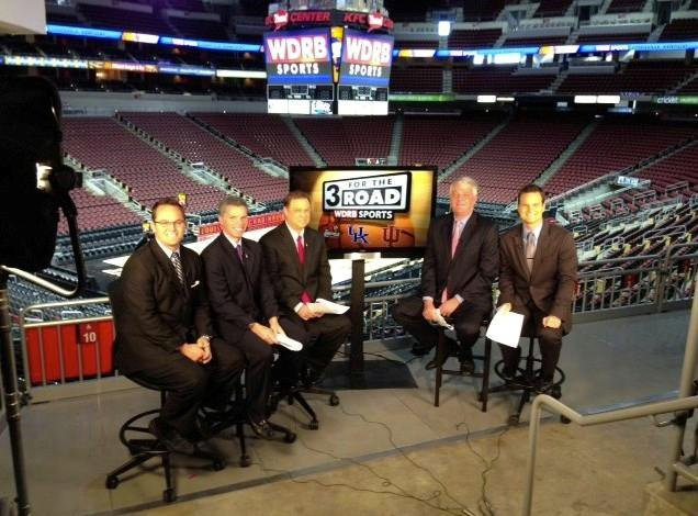 3 for the Road shoot at KFC Yum! Center