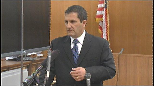 Prosecutor Keith Henderson