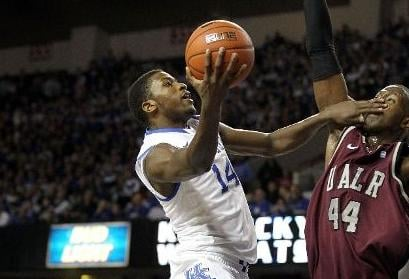 The Charlotte Bobcats are taking a serious look at Michael Kidd-Gilchrist with the second pick in the June 28 NBA Draft.