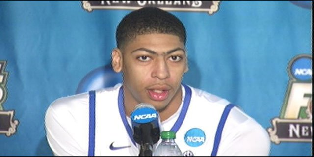 Anthony Davis will go first in the NBA Draft Thursday night, but then the forecast gets cloudy.