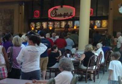 Chick-fil-A in Jefferson Mall