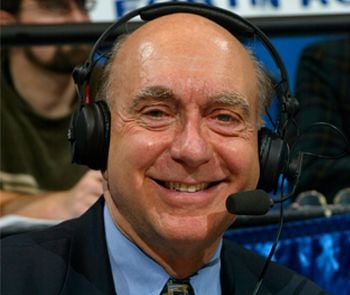 Dick Vitale says college basketball recruiting has become a &quot;joke,&quot; and &quot;cesspool.&quot;