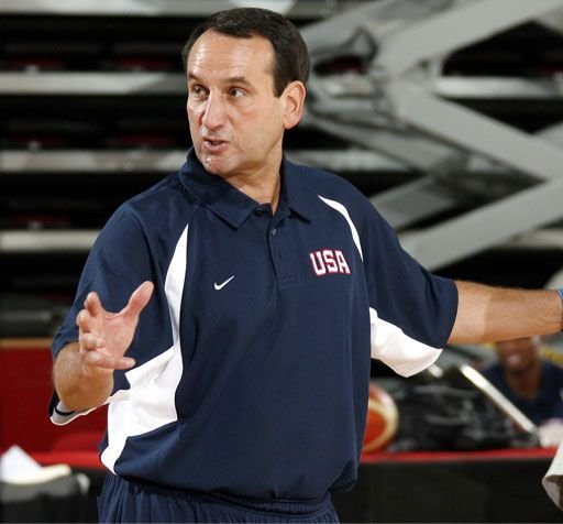 Mike Krzyzewski has now coached Team USA to two gold medals -- and has won four NCAA titles at Duke.