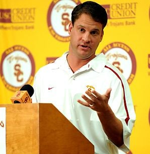 Lane Kiffin quit the USA Today coaches' poll today days after he misrepresented where he voted USC in the pre-season poll.