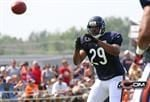 Michael Bush scored twice for the Chicago Bears Saturday. (NFL photo)