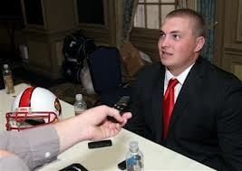 Offensive tackle Alex Kupper has been a part of the football turnaround at Louisville.