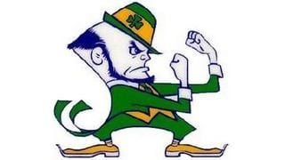 Notre Dame is leaving the Big East for the ACC and agrees to play five games per season against ACC schools.