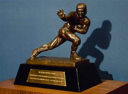 The 2012 Heisman Trophy race is looking for several new candidates.