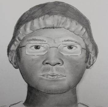 Metro police rendering of suspect