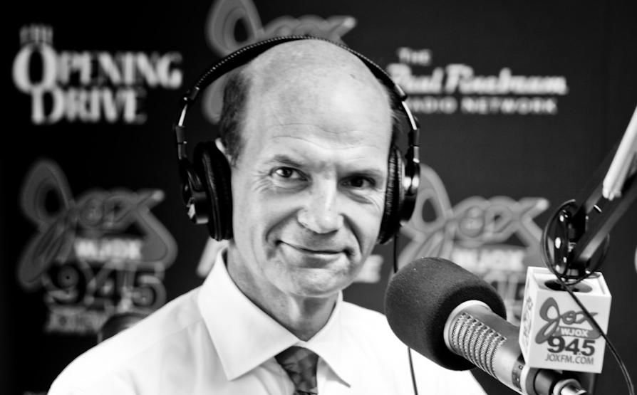 Paul Finebaum, host of a popular radio show, touted Charlie Strong as a candidate for the Arkansas job in Little Rock Monday.