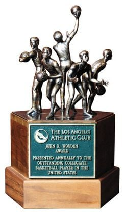 Nominees for the Wooden Award are due in the next week.