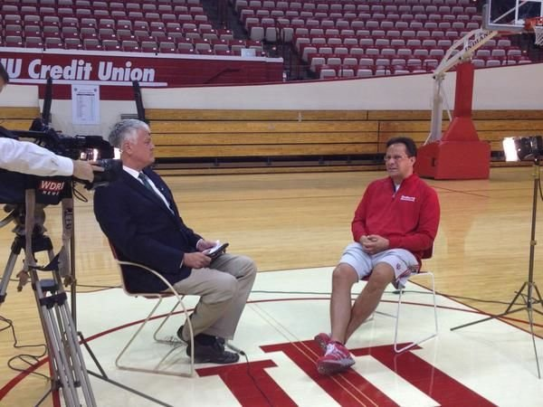 Tom Crean had plenty to say about his top-ranked Indiana basketball team.