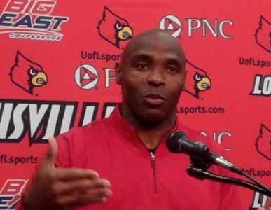 Charlie Strong said he won't argue for a better BCS ranking for Louisville.