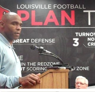 Charlie Strong is not happy that U of L fans failed to fill the stadium for the Cards' final home game.